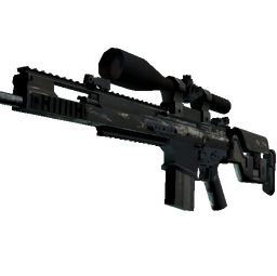 SCAR-20 | Stone Mosaico (Battle-Scarred)