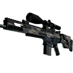 SCAR-20 | Stone Mosaico (Well-Worn)