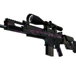 SCAR-20 | Splash Jam (Battle-Scarred)