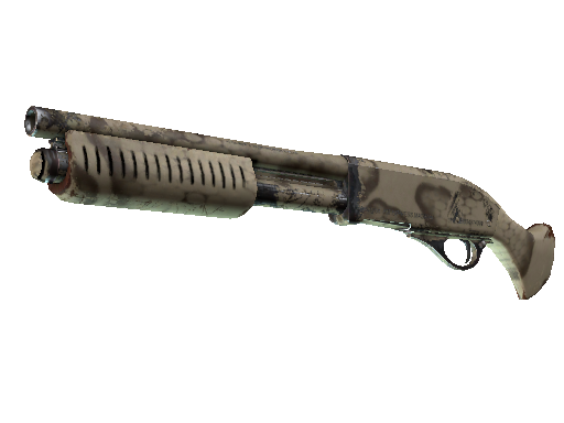 Sawed-Off | Snake Camo Field-Tested