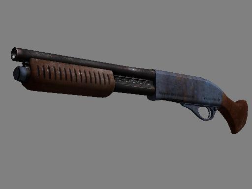 Cobblestone Sawed-Off Rust Coat