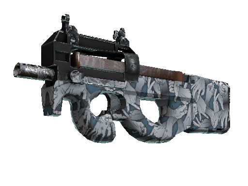 P90 | Death Grip Well-Worn