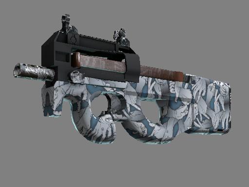 StatTrak™ P90 | Death Grip (Battle-Scarred)