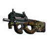 P90 | Cocoa Rampage <br>(Well-Worn)