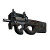 P90 | Cocoa Rampage <br>(Battle-Scarred)