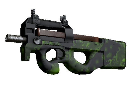 P90 | Virus (Battle-Scarred)