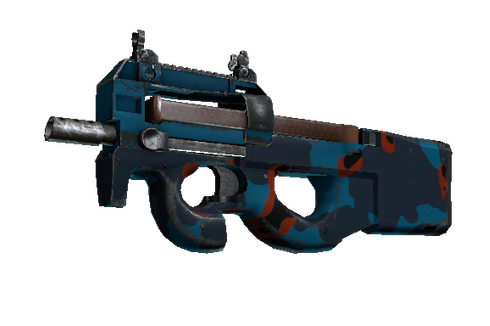 StatTrak™ P90 | Blind Spot (Well-Worn) Prices