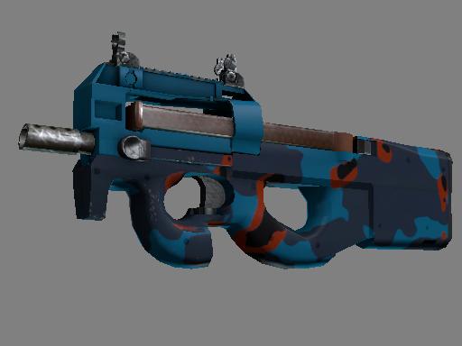 StatTrak™ P90   Blind Spot (Battle-Scarred)