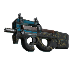 Souvenir P90 | Facility Negative (Battle-Scarred)
