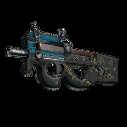 Souvenir P90 | Facility Negative (Battle-Scarred)