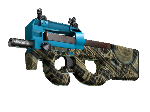 Souvenir P90 | Facility Negative (Well-Worn)