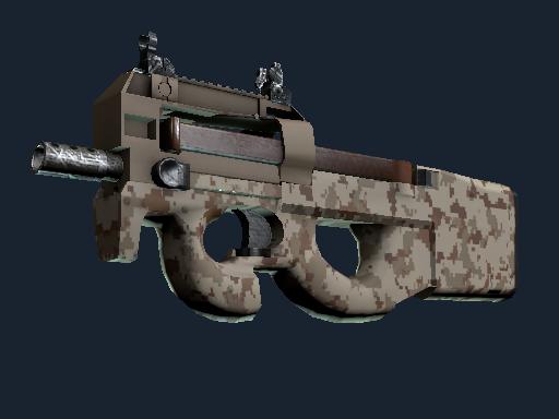 P90 | Desert DDPAT (Well-Worn)