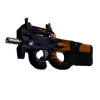 StatTrak™ P90 | Chopper <br>(Battle-Scarred)