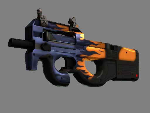 StatTrak™ P90 | Chopper (Battle-Scarred)