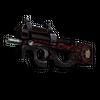 StatTrak™ P90 | Shallow Grave <br>(Battle-Scarred)