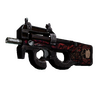 StatTrak™ P90 | Shallow Grave (Battle-Scarred)