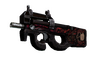 P90 | Shallow Grave (Battle-Scarred)
