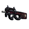StatTrak™ P90 | Shallow Grave <br>(Field-Tested)