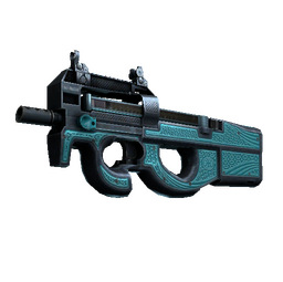 StatTrak™ P90 | Traction (Well-Worn)