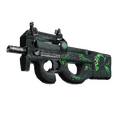 StatTrak™ P90 | Grim <br>(Battle-Scarred)