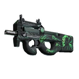 StatTrak™ P90 | Grim (Well-Worn)