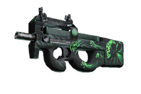 P90 | Grim (Well-Worn) Prices