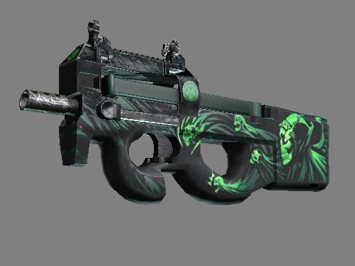 StatTrak™ P90   Grim (Battle-Scarred)