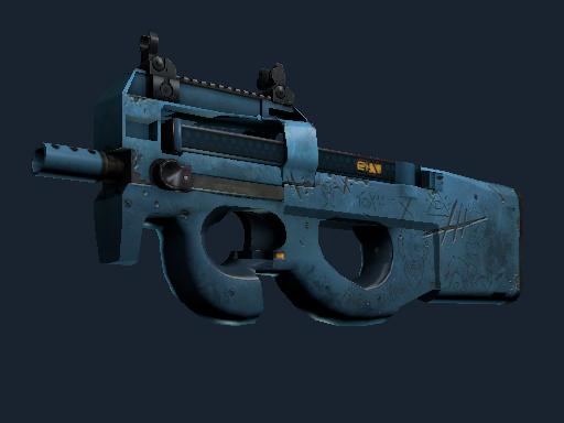 Скин P90 | Пришелец (Немного поношенное)