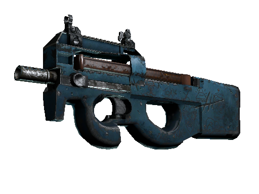 Скин P90 | Пришелец (Закалённое в боях)