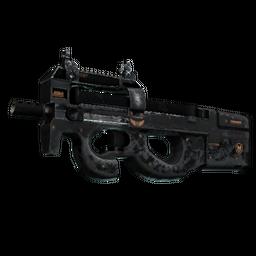 StatTrak™ P90 | Elite Build (Battle-Scarred)