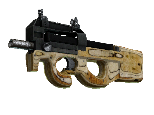 P90 | Shapewood Battle-Scarred