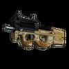 StatTrak™ P90 | Shapewood <br>(Battle-Scarred)