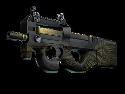 StatTrak™ P90 | Война в пустыне (Немного поношенное)