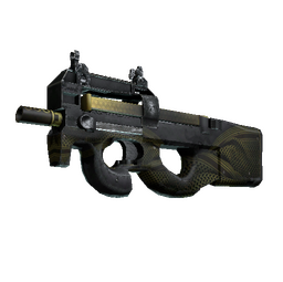 StatTrak™ P90 | Desert Warfare (Well-Worn)