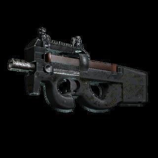 StatTrak™ P90 | Desert Warfare (Battle-Scarred)