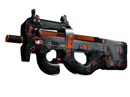 P90 | Trigon (Battle-Scarred)