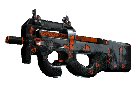 P90 | Trigon Well-Worn