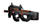 P90 | Trigon (Well-Worn)