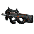StatTrak™ P90 | Trigon <br>(Battle-Scarred)