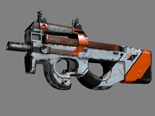 Скин StatTrak™ P90 | Азимов (Закаленное в боях)