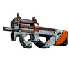 P90 | Asiimov <br>(Battle-Scarred)