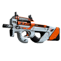 P90 | Asiimov <br>(Well-Worn)