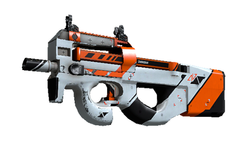 P90 | Asiimov (Well-Worn) Prices
