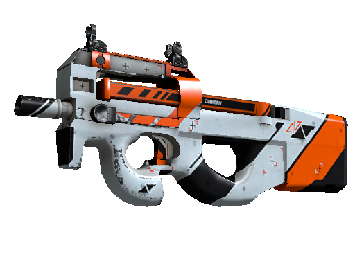P90 | Asiimov Well-Worn
