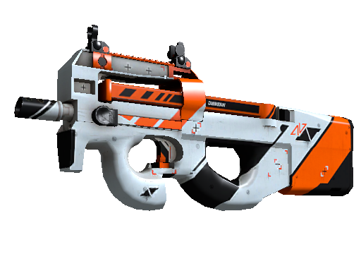 Operation Breakout P90 Asiimov