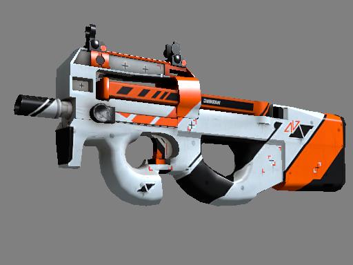 Скин StatTrak™ P90 | Азимов (Прямо с завода)