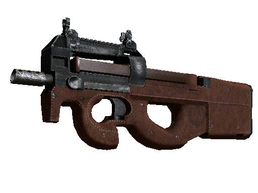 P90  |  Leather  Battle-Scarred