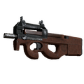 P90 | Leather <br>(Battle-Scarred)
