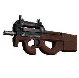 P90 | Leather (Battle-Scarred)
