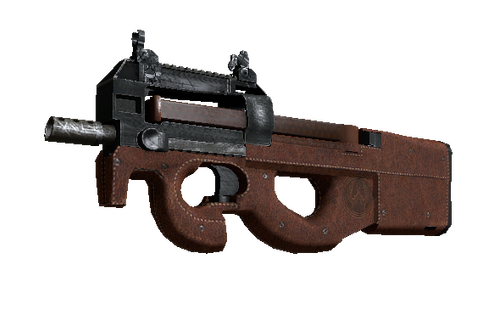 P90 | Leather (Well-Worn) Prices
